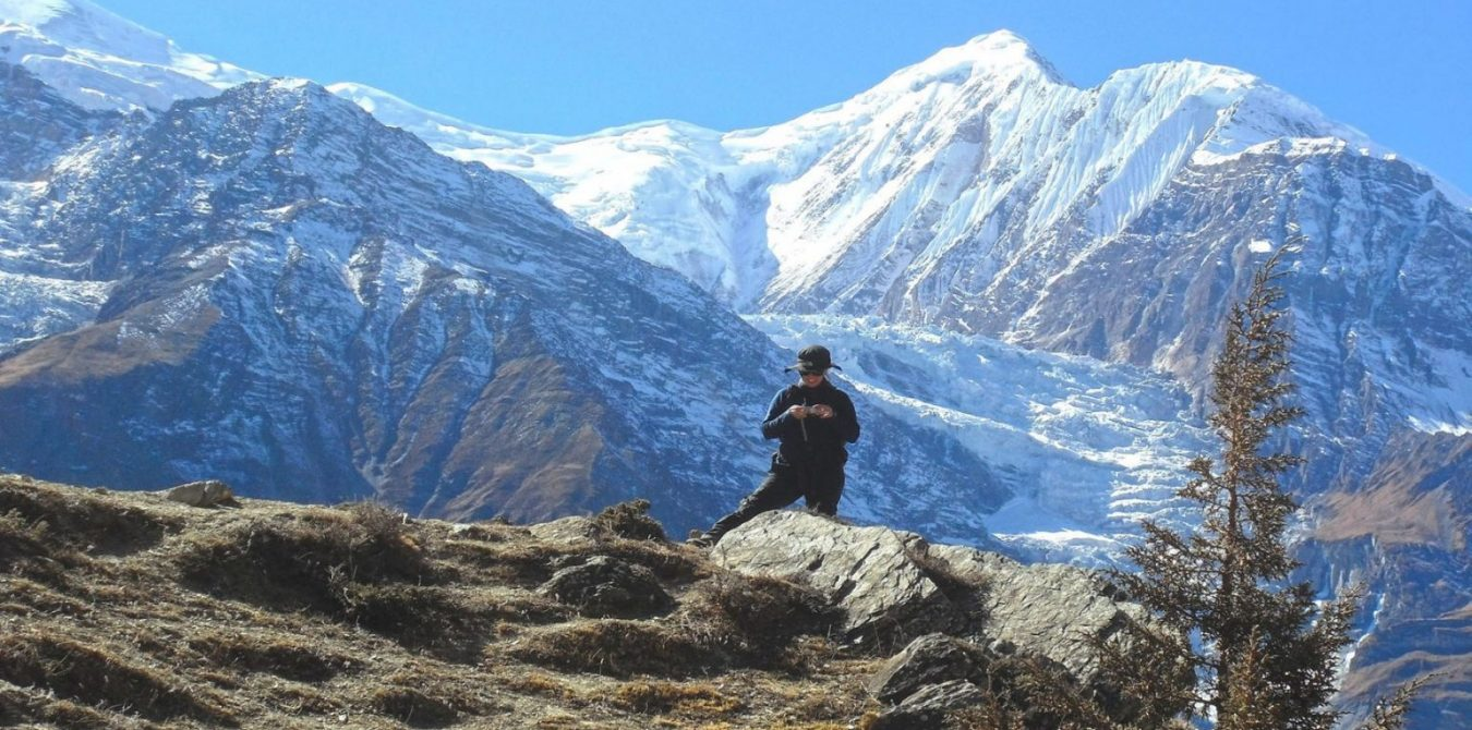 Mount-Gangapurna-7,455m-annapurna-circuit-trek