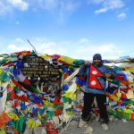 At Thorong La Pass5,416 m