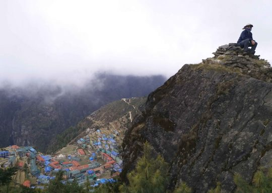 View-of-Namche-Bazar