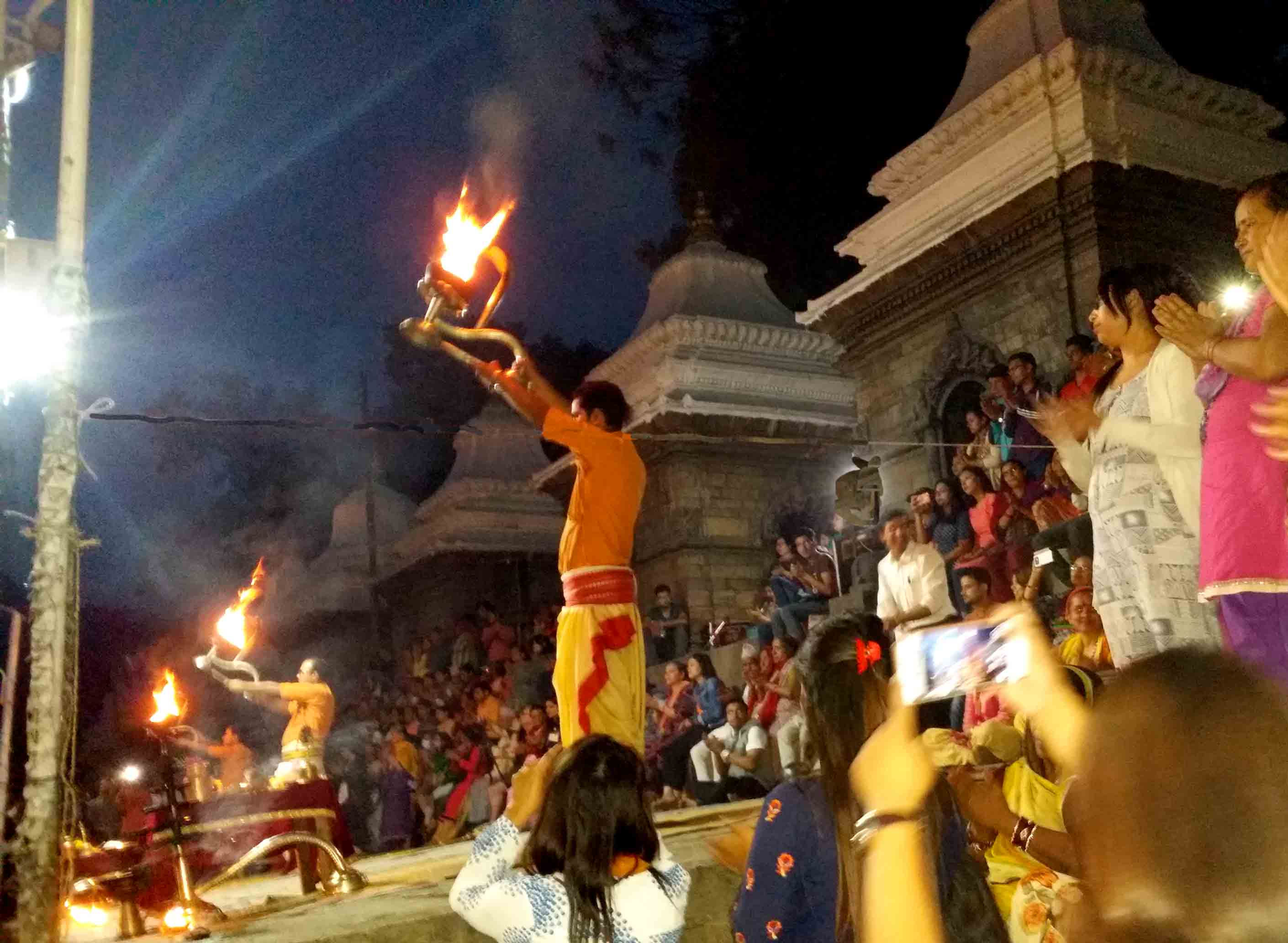 Pashupatinath-aarati