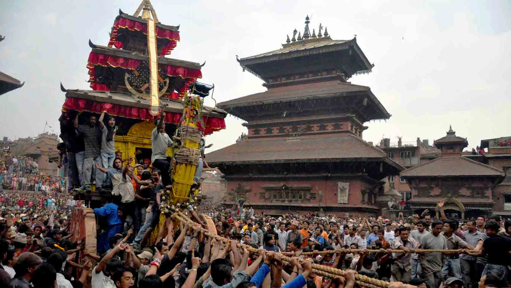 Bisket-Jattra-in-Nepal