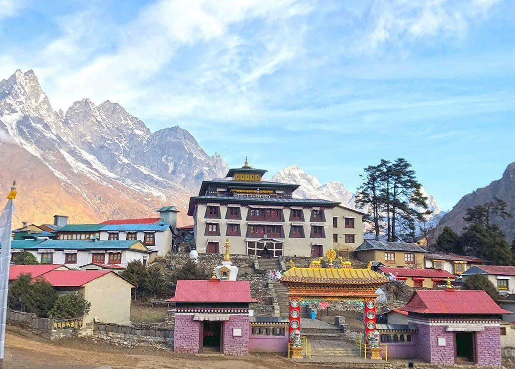 View-at-Tengboche