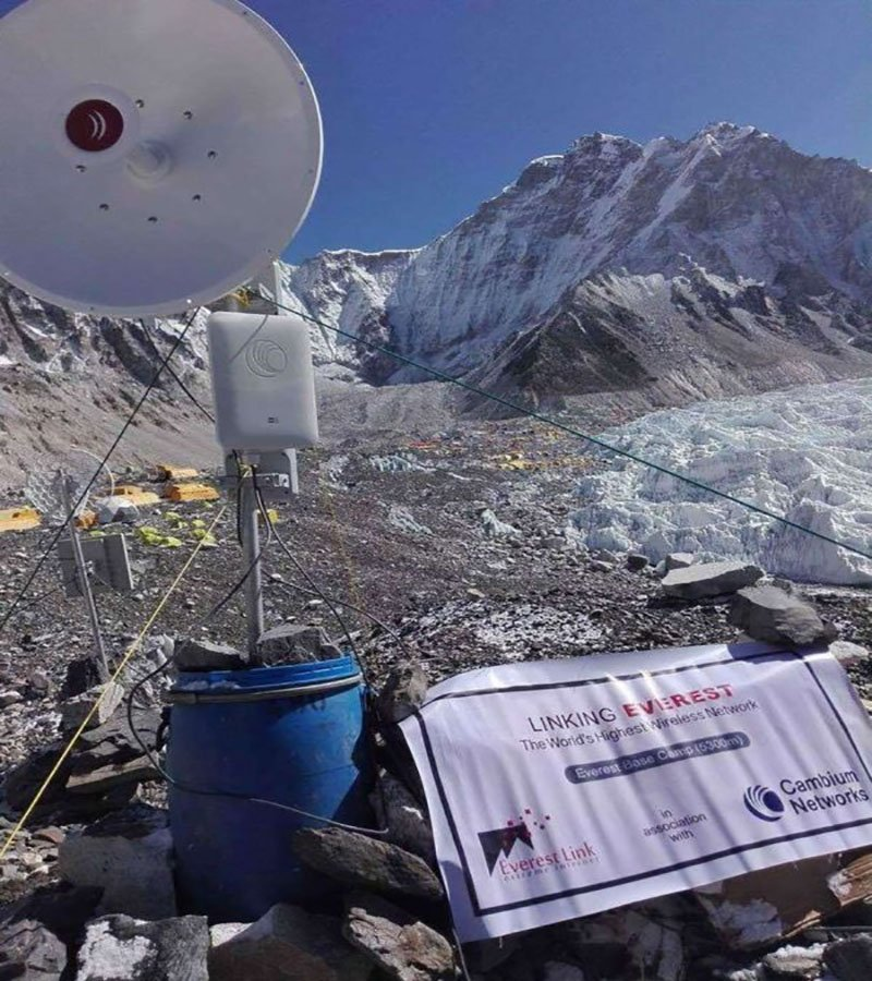internet-in-everest-trek